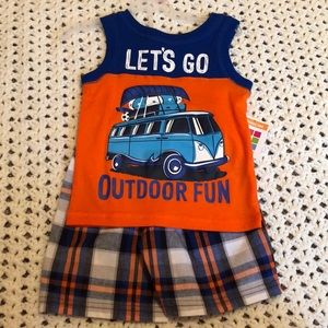 Other - Toddler tank and short